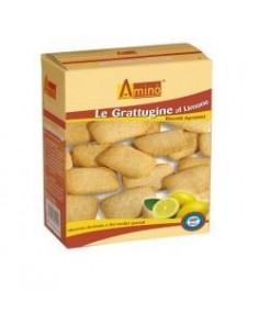 Aminò - Biscotti Ipoproteici Grattuggine al Cacao LIMONE - Confezione da 200 g
