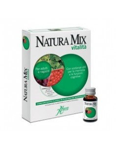 Natura Mix Vitalità Concentrato fluido 10 Flaconcini in vetro da 15 g