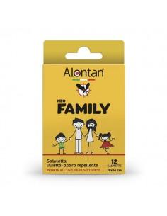 Alontan Neo Family Salviette Insetto-Acaro Repellente 12 salviette