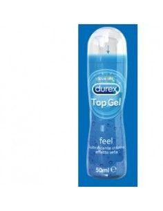 DUREX Top Gel Feel lubrificante intimo effetto seta Flacone con erogatore da 50 ml