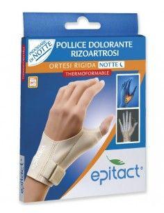 Epitact Ortesi Rigida Rizoartrosi NOTTE Thermoformable 1 Ortesi Correttiva - taglia L mano sinistra
