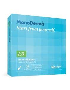 MonoDermà E5 Lenitiva Idratante – Vitamina E Tocoferolo 5% 28 Soft Vegicaps da 0,5 ml (MonoDermoDose uso esterno)