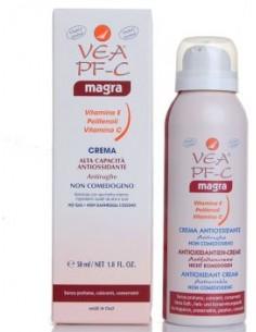 Vea Crema PF-C Magra - Crema Antiossidante Antirughe Pelli Grasse o Miste Bomboletta no gas da 50 ml