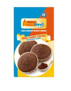 Aminò' Happy D Mini Cakes Cacao 160 gr