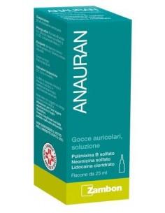 ANAURAN GOCCE AURICOLARI, SOLUZIONE