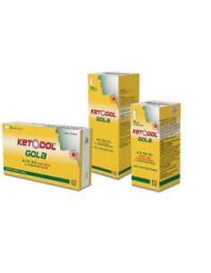 KETODOL COLLUTORIO GOLA 2,5 MG/ML