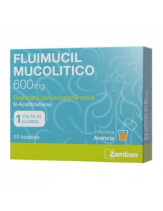 FLUIMUCIL MUCOL*OS 10BUST600MG