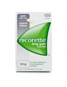 NICORETTE*105GOMME MAST 2MG