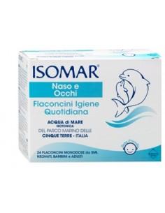 Isomar ® Flaconcini Igiene Quotidiana 24 flaconcini sterili da 5 ml