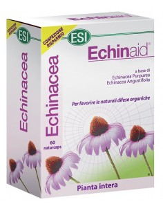 Echinaid Naturcaps Confezione da 60 capsule da 500 mg cad. in blister