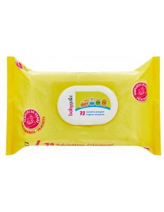 Babygella - Salviettine detergenti Confezione da 72 salviettine detergenti