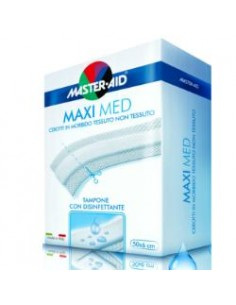 Master Aid Maxi Med Cerotto in morbido tessuto non tessuto 50x6 cm